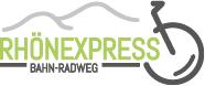 RHÖNEXPRESS BAHN-RADWEG Logo